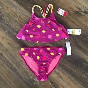 Girls 2 piece Calvin Klein bathing suit